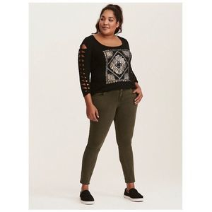 Torrid Super Soft Studded Graphic Tee 3X